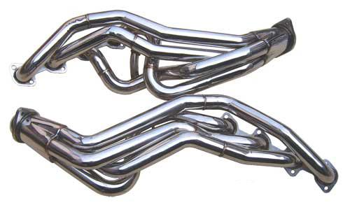 Pypes Mustang Long Tube Headers Stainless Steel (96-04) 4.6