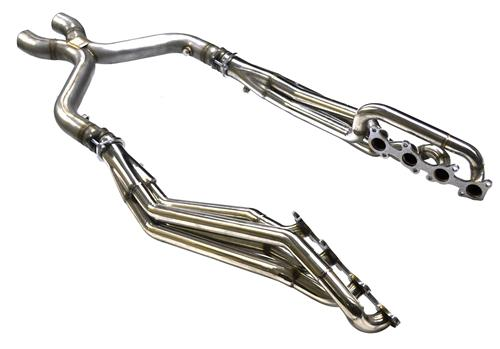 Pypes Mustang GT 5.0 Coyote Long Tube Stainless Headers w/X Pipe (11-14)