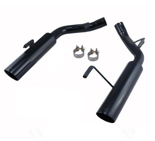 Pypes Mustang Pype Bomb Axle-Back Exhaust Black (05-10) GT-GT500 SFM60MSB