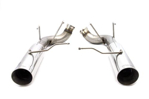 2011-2014 MUSTANG 3.7L V6 POLISHED PYPE BOMB AXLE BACK