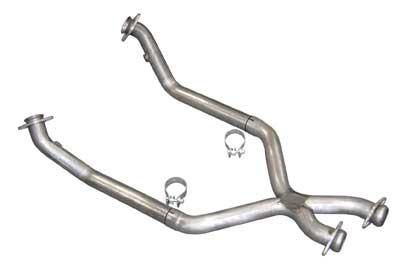 Pypes Mustang Off Road X-Pipe For Shorty Headers Stainless Steel (86-93) 5.0L