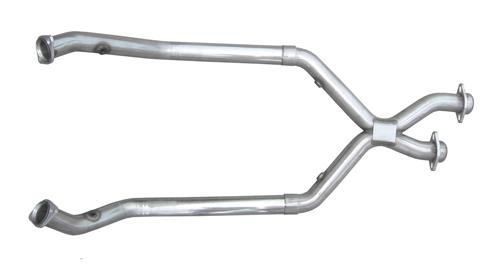 Pypes Mustang Off Road X-Pipe For Shorty Headers Stainless Steel (98-04) V6 3.8