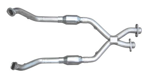 Pypes Mustang Catted X-Pipe Stainless Steel (96-98) GT 4.6