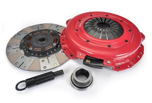 "Ram Mustang 11"" Powergrip Clutch Kit 10 Spline (01-04) 4.6"