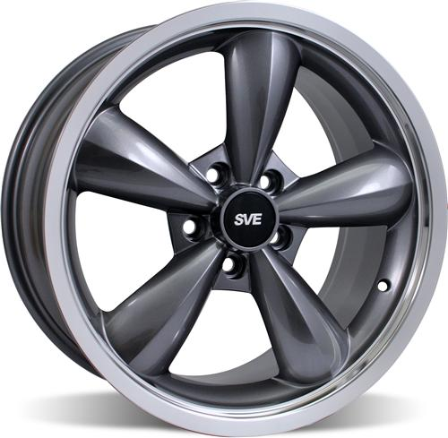 Mustang Bullitt Wheel - 18X10 Anthracite (05-14)