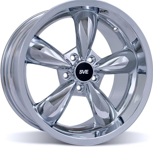 Mustang Deep Dish Bullitt Wheel- 18X10 Chrome (05-14)