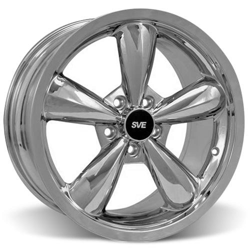 Mustang Bullitt Wheel - 18X9 Chrome (05-15)