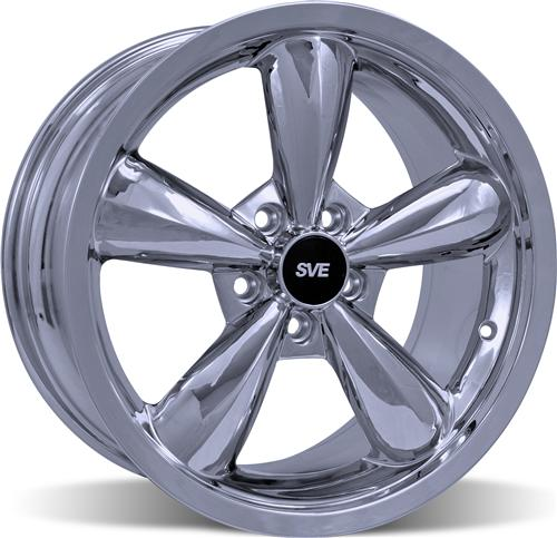 Mustang Bullitt Wheel- 18X9 Chrome (05-14)