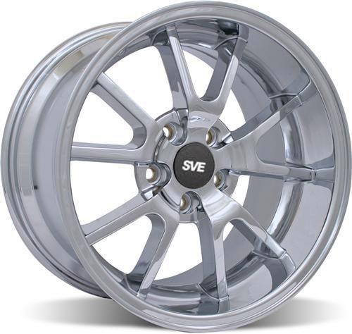 Mustang Deep Dish Fr500 Wheel - 18X10 Chrome (05-14) - Picture of Mustang Deep Dish Fr500 Wheel - 18X10 Chrome (05-14)