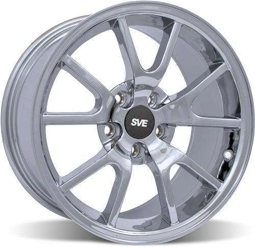 Mustang Fr500 Wheel - 18X9 Chrome (05-14) - Picture of Mustang Fr500 Wheel - 18X9 Chrome (05-14)