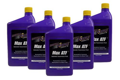 79-14 Mustang Royal Purple Max ATF Oil, 5 Quarts Enough to drain the pan and replace the filter - 79-14 Mustang Royal Purple Max ATF Oil, 5 Quarts Enough to drain the pan and replace the filter