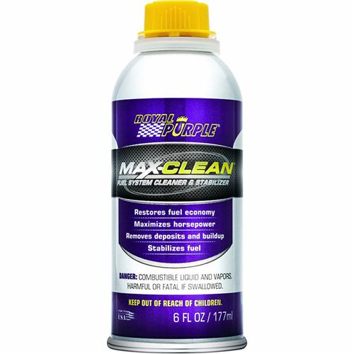 ROYAL PURPLE MAX-CLEAN FUEL SYSTEM CLEANER & FUEL STABILIZER - ROYAL PURPLE MAX-CLEAN FUEL SYSTEM CLEANER & FUEL STABILIZER