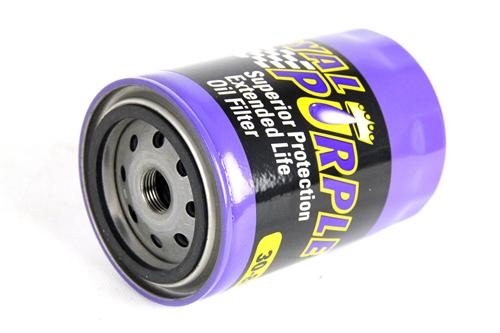 79-95 Mustang 5.0L Royal Purple Extended Life Oil Filter Part # 30-8A, equivalent to FL1A Motorcraft Will not fit 94-95 Cobra or 1983-93 Special Service Package with Oil Cooler - 79-95 Mustang 5.0L Royal Purple Extended Life Oil Filter Part # 30-8A, equivalent to FL1A Motorcraft Will not fit 94-95 Cobra or 1983-93 Special Service Package with Oil Cooler