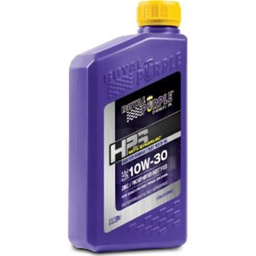 Royal Purple HPS Series 10w30 Engine Oil, Quart Bottle - Royal Purple HPS Series 10w30 Engine Oil, Quart Bottle