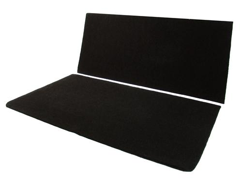 Mustang Rear Seat Delete Black (05-14) Coupe