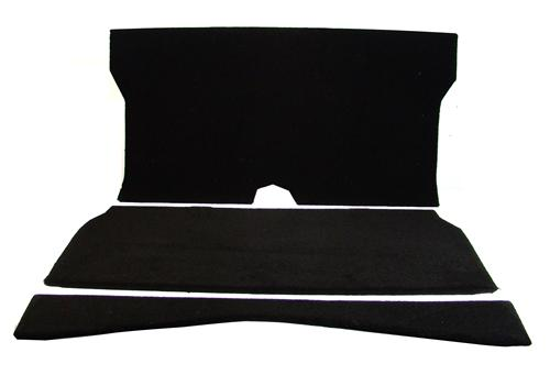 Mustang Rear Seat Delete Black (79-93) Coupe