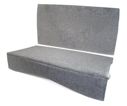 MMR Mustang Rear Seat Delete Gray (83-93) Convertible