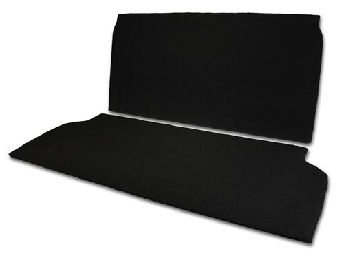 MMR Mustang Rear Seat Delete Black (94-04) Convertible