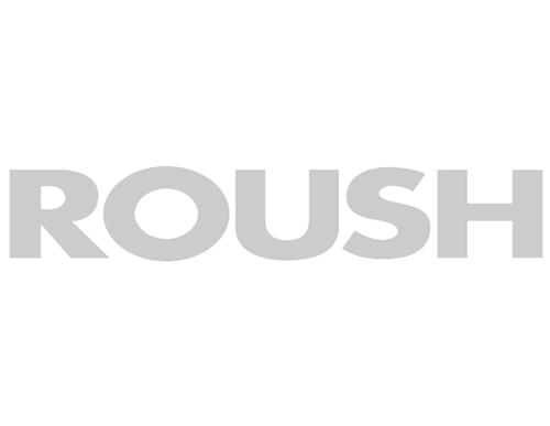 Roush Rear Window Decal Silver
