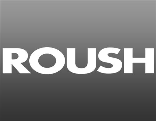 ROUSH WHITE REAR WINDOW DECAL