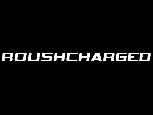 Roush Mustang Roushcharged Hood Scoop Decal White (05-09) 401854 - Roush Mustang Roushcharged Hood Scoop Decal White (05-09) 401854
