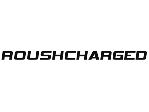 Roush Mustang Roushcharged Hood Scoop Decal Black (05-09) 401855
