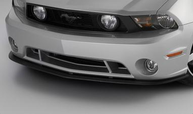 Roush Mustang Front Splitter Assembly Unpainted (10-12) 420002