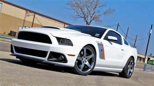 Roush/RTR Mustang Side Splitter Assemblies (10-14)