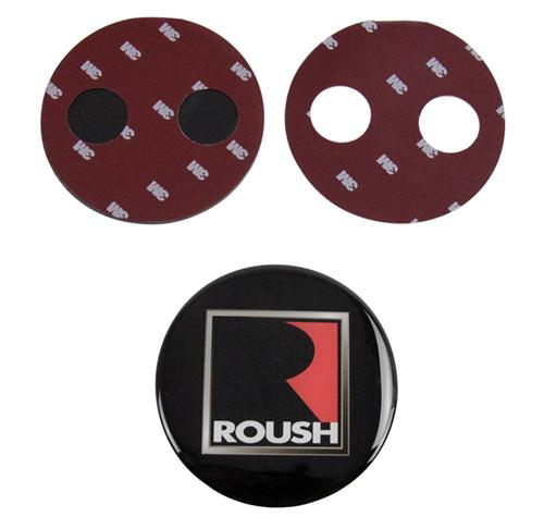 2010-14 Mustang Roush Rear Decklid Badge    - Picture of 2010-14 Mustang Roush Rear Decklid Badge