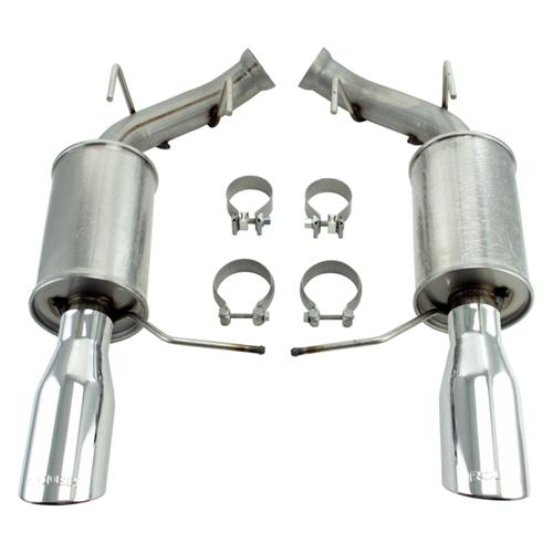 Mustang Roush Axle-Back Exhaust Kit (11-14) 5.0L 5.4L - Mustang Roush Axle-Back Exhaust Kit (11-14) 5.0L 5.4L