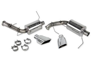 Roush Mustang Exhaust Kit w/ Square Tips (11-14) V6 3.7L 421144