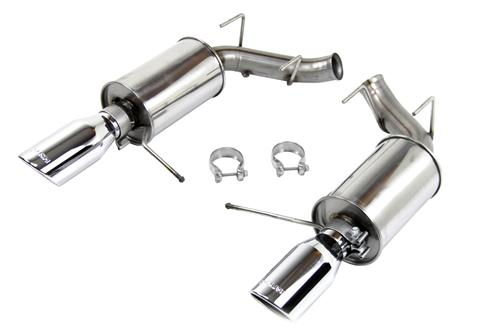 Roush Mustang Axle Back Exhaust Kit (11-14) V6 3.7L 421145 - Picture of Roush Mustang Axle Back Exhaust Kit (11-14) V6 3.7L 421145
