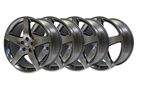 2005-14 Mustang Roush 20 Inch Wheels w Center Caps, Hyper Black. Set of 4    http://www.roushperformance.com/parts/Mustang-20-Inch-Wheel-Painted-Hyper-Black-2005-2012.html