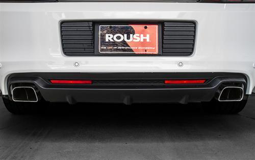 Roush Mustang Rear Valance Kit w/ Axle Back Exhaust, 5.0 & 5.8 (13-14)