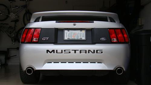 Roush Mustang Rear Deck Lid Spoiler (99-04)