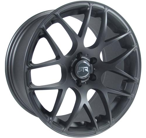 RTR  Mustang Wheel & Nitto Tire Kit 19X9.5 Dark Charcoal (05-14)