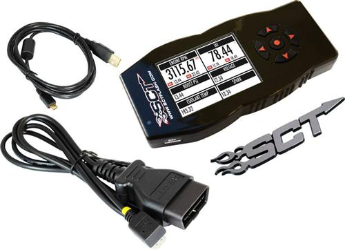 SCT Power Flash X4 Tuner for 96-04 Mustang - SCT Power Flash X4 Tuner for 96-04 Mustang