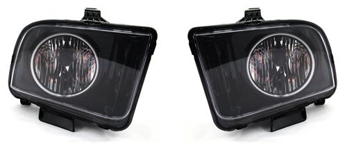 SVE Mustang Halo Headlights Black (05-09)
