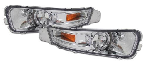 Mustang Clear Front Bumper Park Lights (05-09)