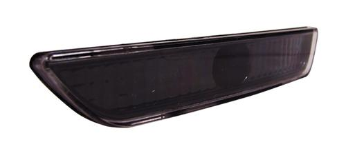 Mustang Front Bumper Park Lights Black  (10-12)