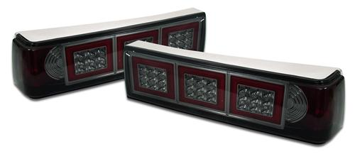SVE Mustang Smoked Led Tail Lights (87-93)