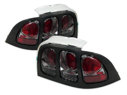 SVE Mustang Smoked Euro Tail Lights (94-98)