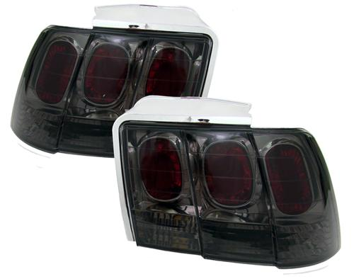 SVE Mustang Smoked Altezza Tail Lights (99-04)