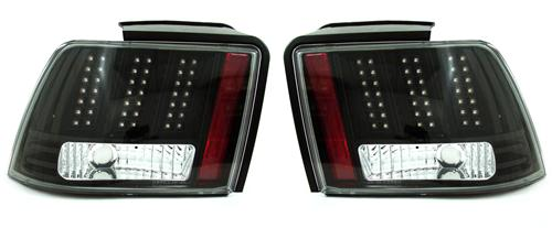 SVE Mustang Smoked Led Euro Tail Lights (99-04)