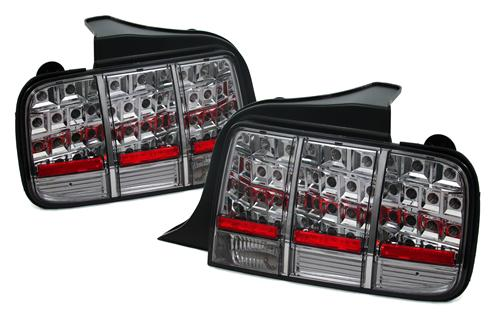 SVE Mustang Smoked Led Tail Lights (05-09)