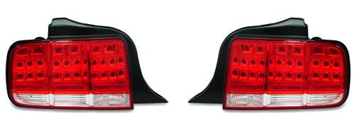 SVE Mustang Red Led Tail Lights (05-09)