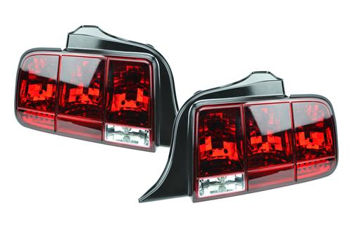 Mustang Red Sequential Tail Lights (05-09)