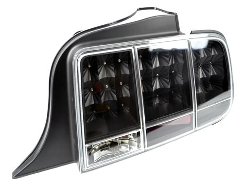 Mustang Led Sequential Tail Lights Black  (05-09)