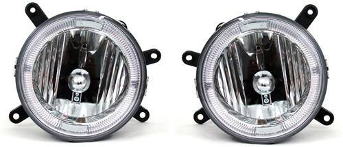 SVE Mustang GT Clear Halo Fog Lights (05-09)