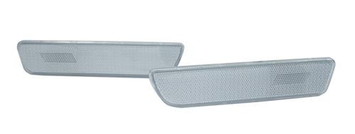 Mustang Rear Bumper Reflector Lenses Clear  (05-09)